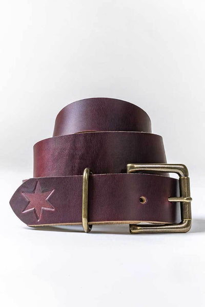 #4: Color #8 Leather Belt