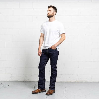 #3: boot-cut-dark-wash