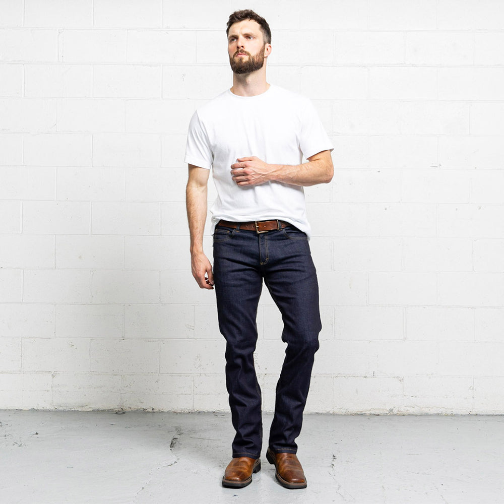 Boot Cut Dark Wash