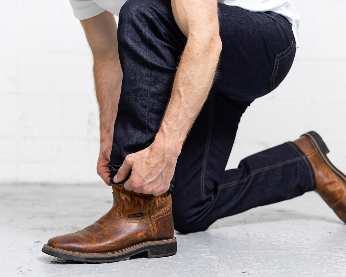 More images: #8: boot-cut-dark-wash