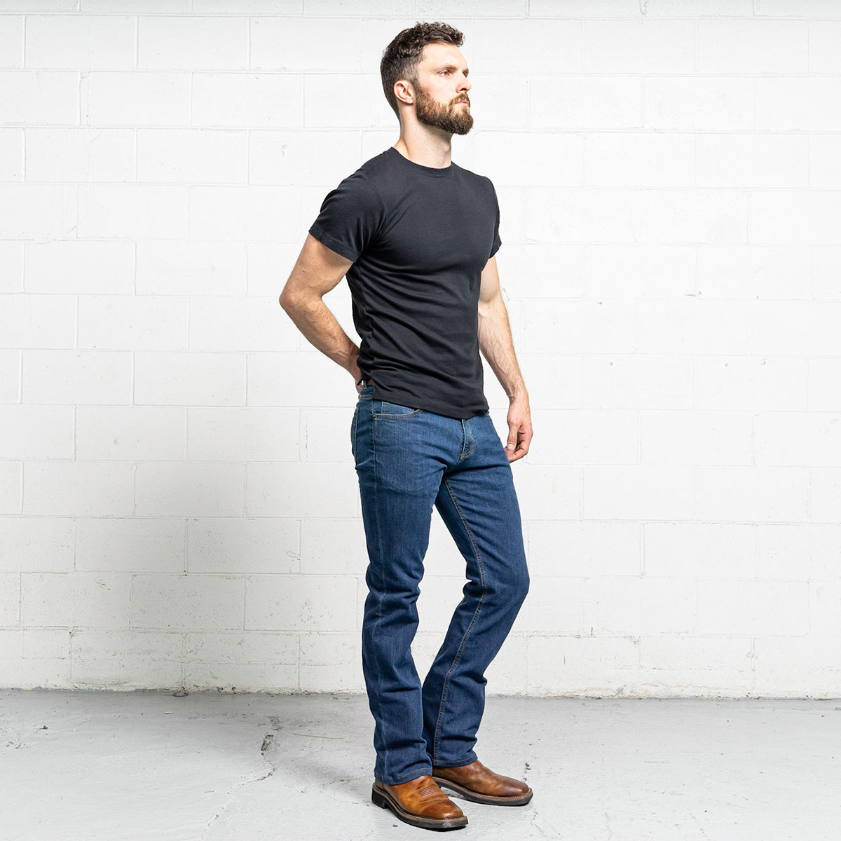 #6: boot-cut-medium-wash