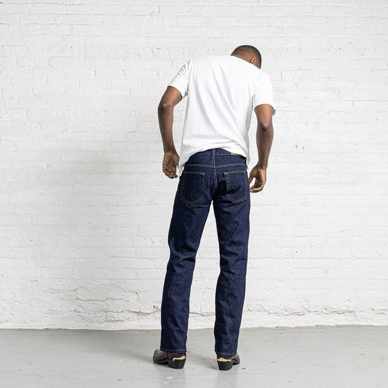 100% Cotton Boot Cut Dark Wash