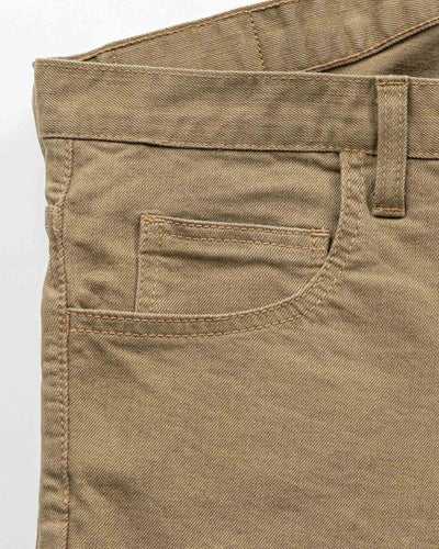 Tailored Fit Khaki Stretch Denim Jeans Men's Jeans