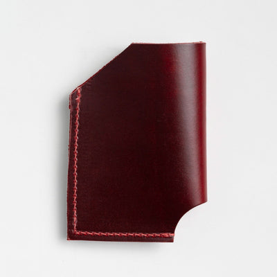 Cherry Leather Card Holder