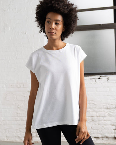 Dolman T Color:White Combed Cotton New T-shirts Women's T-shirts