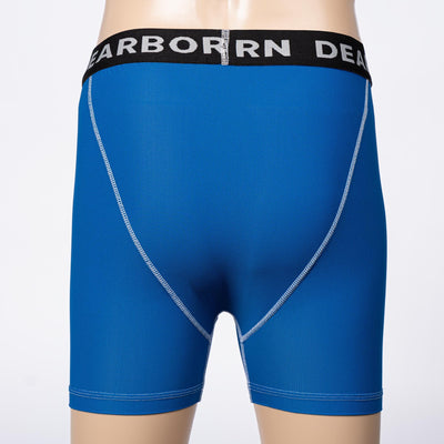 Color:Blue Men's Performance Boxer Briefs