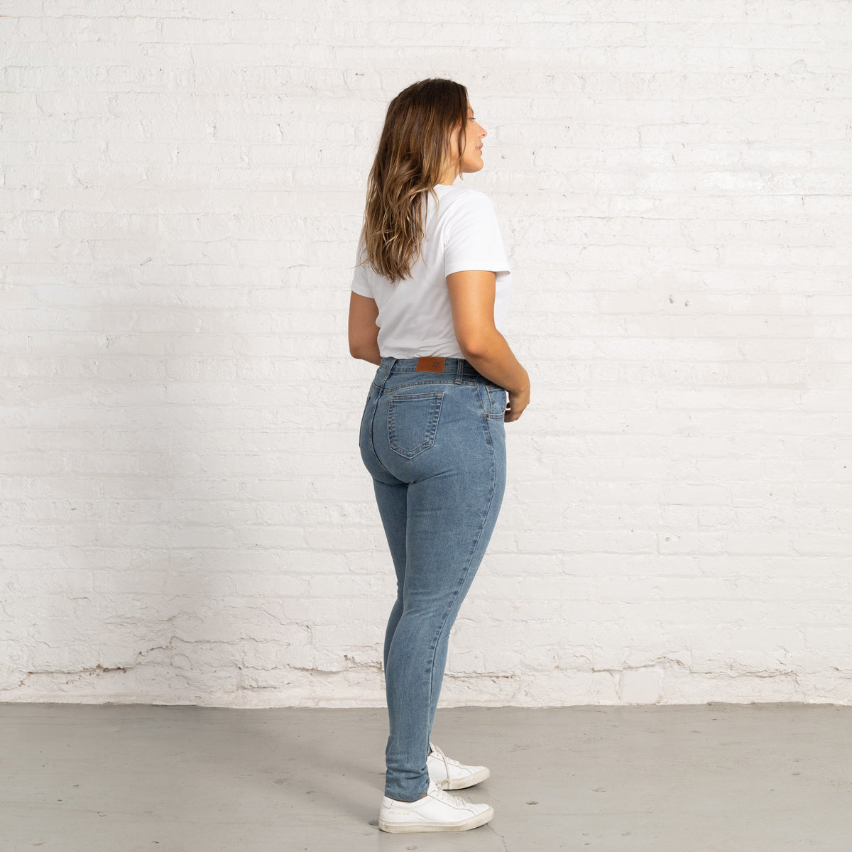 Rose Light Stretch Denim Jeans Women's Jeans