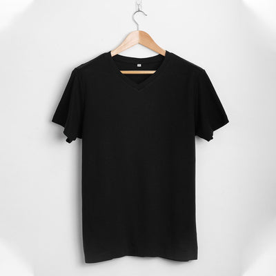 #1: the-most-comfortable-black-v-fitted