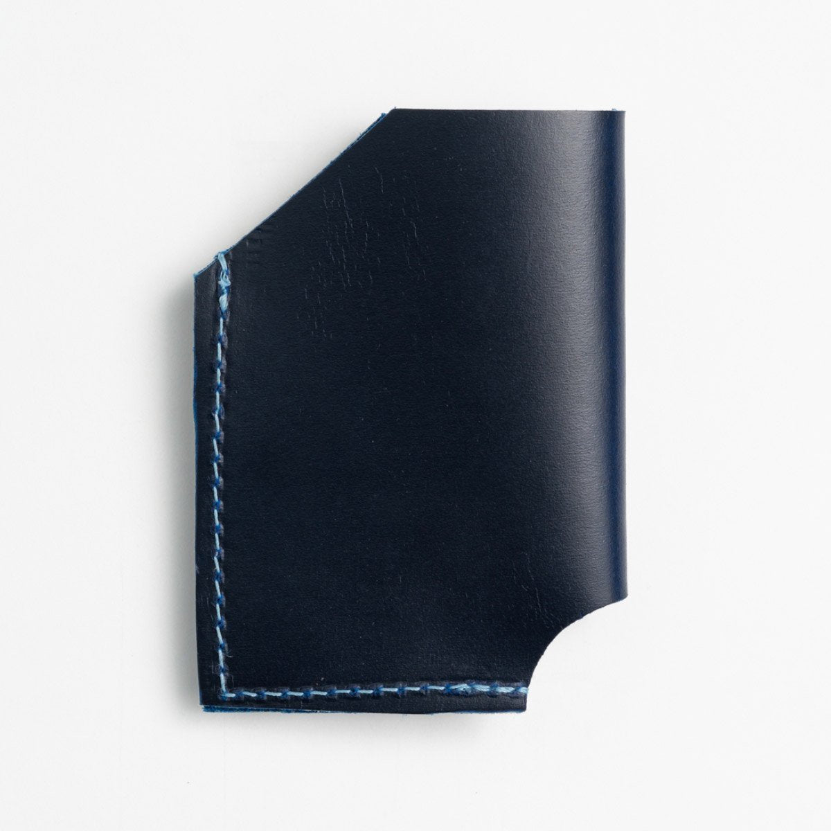 Persian Blue Leather Card Holder