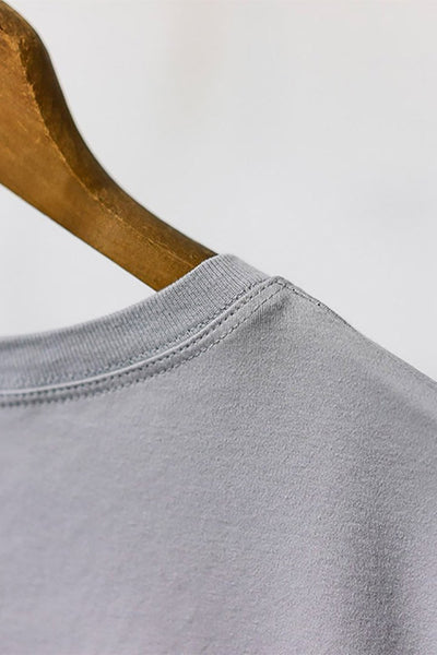 The Most Comfortable Grey T - Fitted