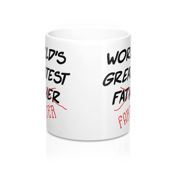 Worlds Greatest Father Farter Mug 11oz