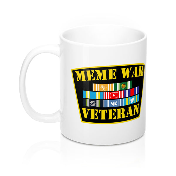 Meme War Veteran 11oz Mug