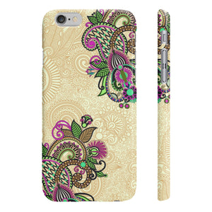 India Design Slim Phone Cases
