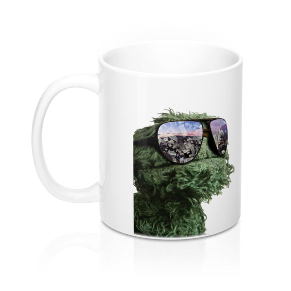 Gangster Oscar The Grouch Mug 11oz