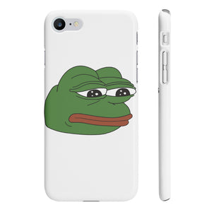Pepe the Sad Frog iPhone 8 case