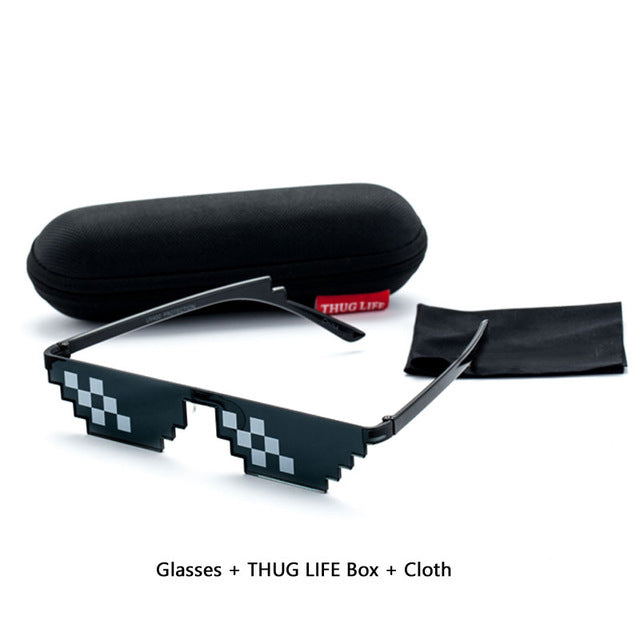 Thug Life Deal With It Meme Sunglasses