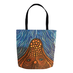 Faebella Tote Bag-Clarence River Serpent