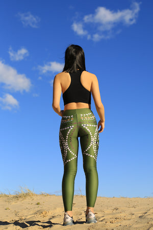 The Truganini Starfish Leggings