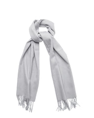 Cashmere Scarf - Light Grey