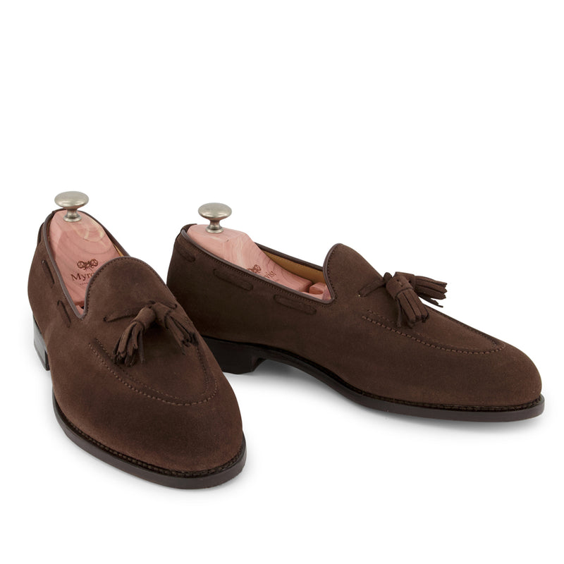 Mölle Dark Brown Suede