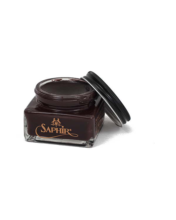 Saphir ™ Crème Pommadier Shoe Cream - Dark Brown
