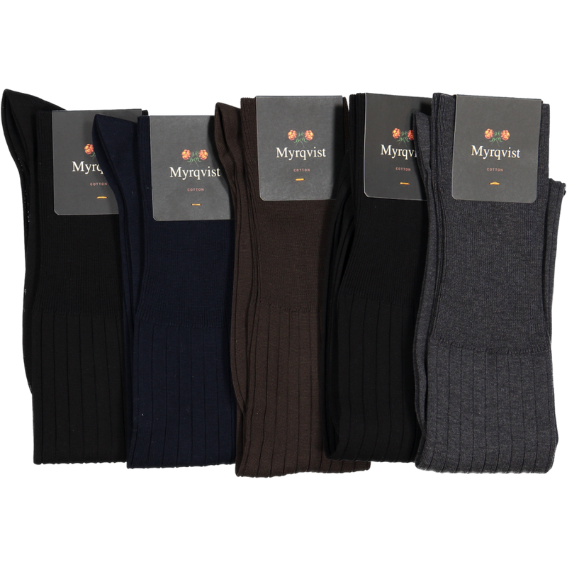 Olle Knee-High Cotton 5-pack
