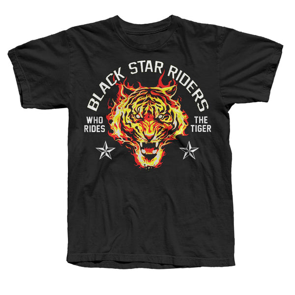 Ride the Tiger Black T-Shirt