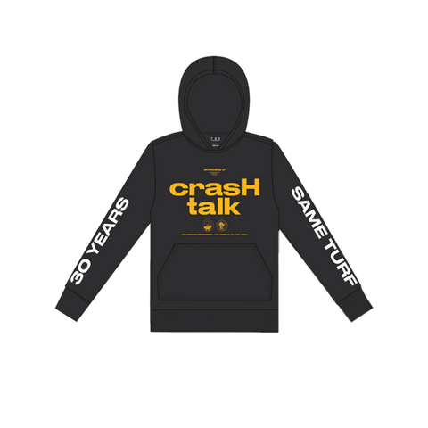 Crash Talk Hoodie + Digital Album