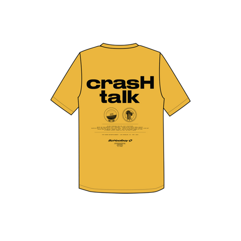 Yellow Crash Talk T-shirt + Digital Album