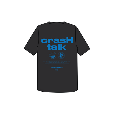 Black Crash Talk T-Shirt + Digital Album