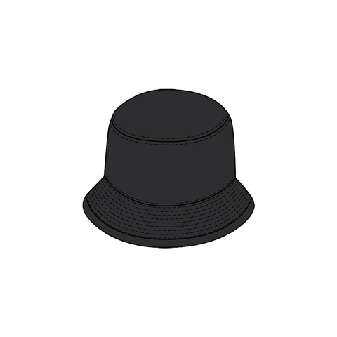 Black Crash Talk Bucket Hat + Digital Album