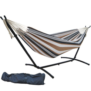 AEROLAX™ Hammock with Steel Stand and Carrying Case