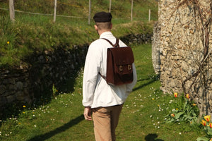 'ACUZIO' BACKPACK - Vicus Pelle