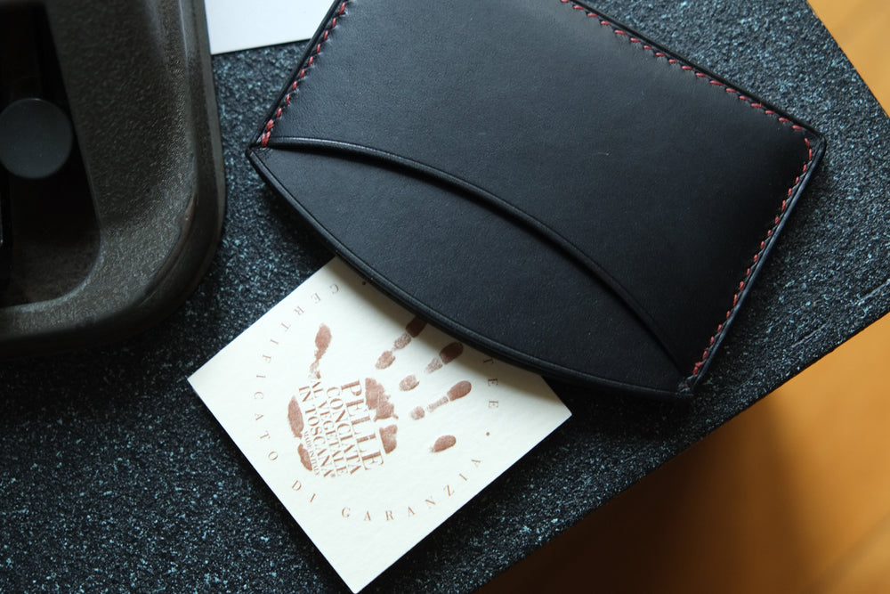 Load image into Gallery viewer, 'ROCUL' CARDHOLDER - Black - Vicus Pelle