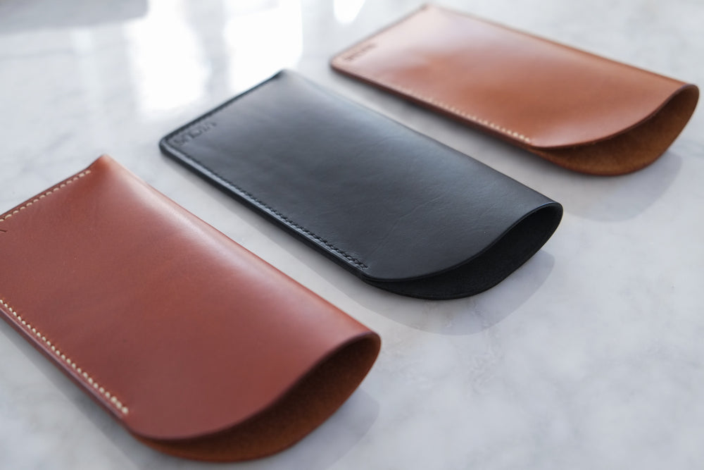 Load image into Gallery viewer, 'AMABEL' GLASSES CASE - Vicus Pelle