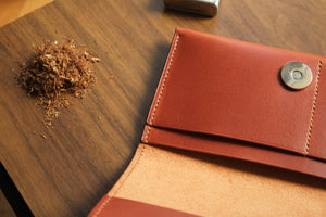 Load image into Gallery viewer, 'AQUILA' TOBACCO POUCH - Vicus Pelle
