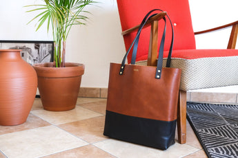 shopper bag, tote bag, leather bag, leather shopper bag, leather tote bag