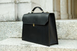 leather bag, leather briefcase, leather handbag made in switzerland, woman briefcase, woman in business