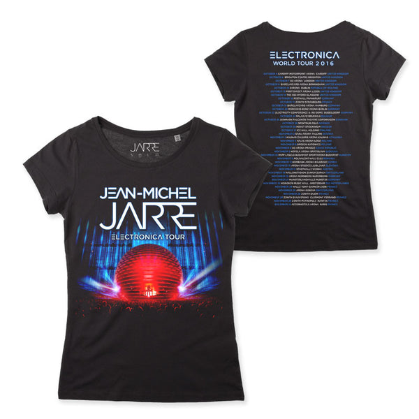 ELECTRONIC 2016 GIRLS BLACK TOUR T-SHIRT