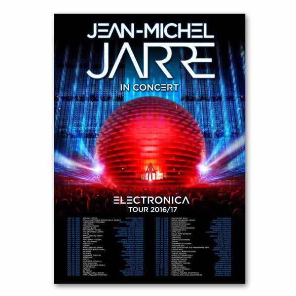 ELECTRONICA 2017 TOUR POSTER