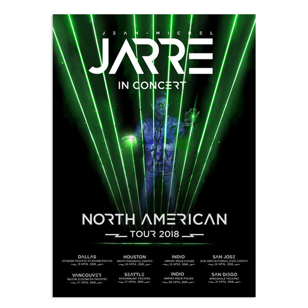 NORTH AMERICAN TOUR 2018 POSTER