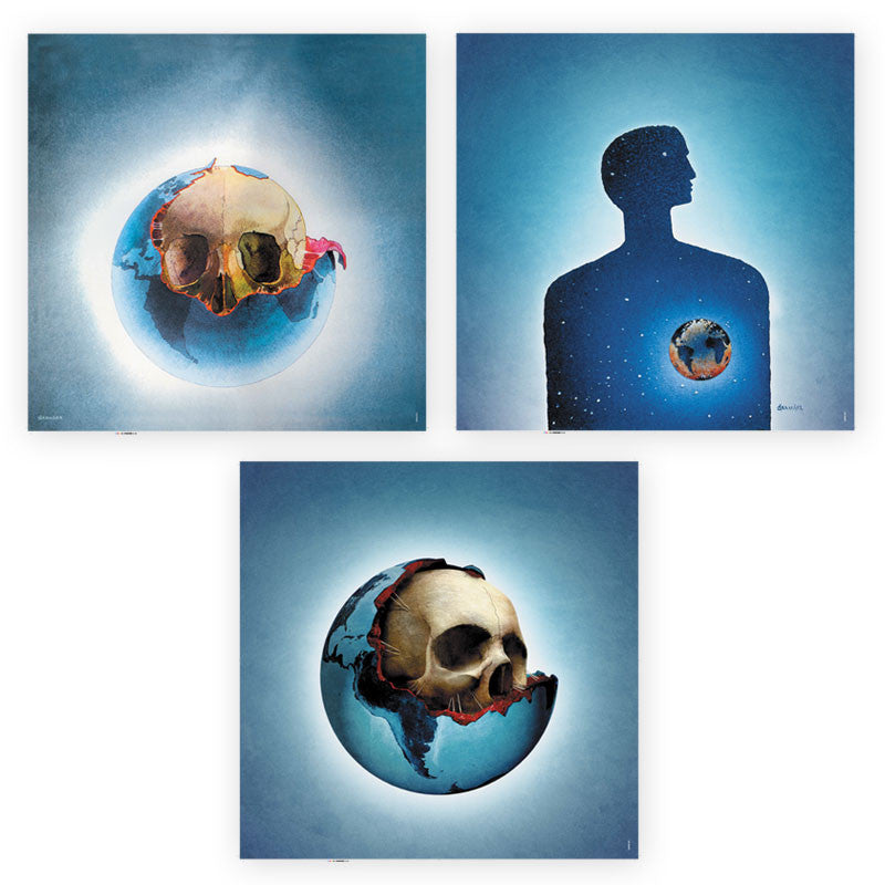 OXYGENE TRIPTYCH LITHOGRAPH SET