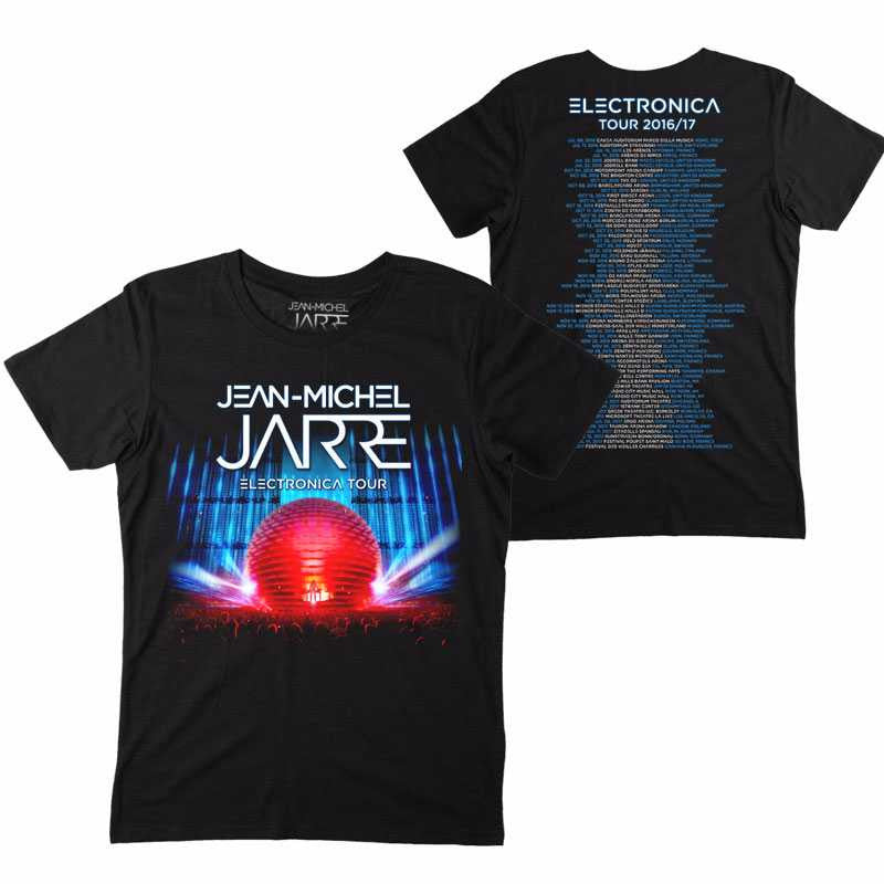 ELECTRONICA 2017 TOUR BLACK T-SHIRT