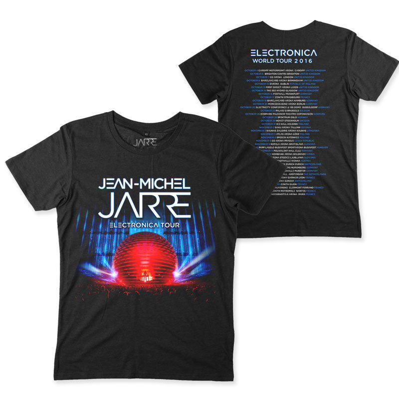 ELECTRONIC 2016 MENS BLACK TOUR T-SHIRT