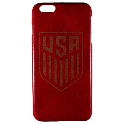 US Soccer Genuine Leather Phone Case