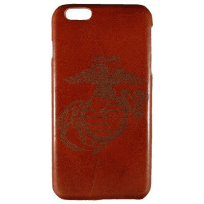 United States Marine Corp Genuine Leather Phone Case