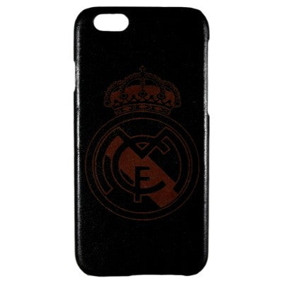 Real Madrid Genuine Leather Phone Case