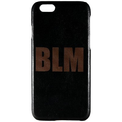 BLM Genuine Leather Phone Case