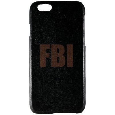FBI Genuine Leather Phone Case