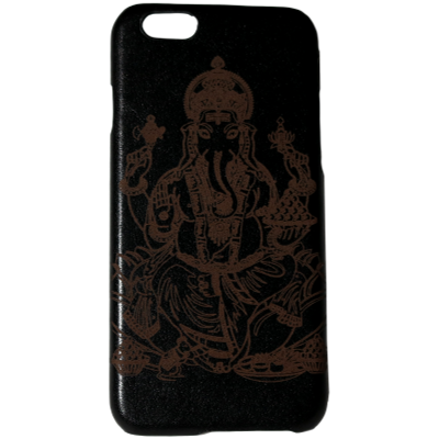 Ganesh Genuine Leather Phone Case